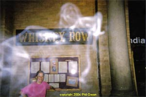 Ghost picture - Prescott, Arizona.
