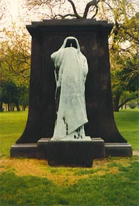 Eternal Silence by Lorado Taft, Chicago