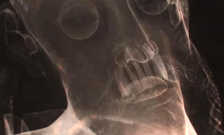 Jesus Christ Head X-Ray
