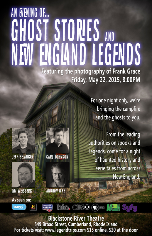 An Evening of Ghost Stories and New England Legends