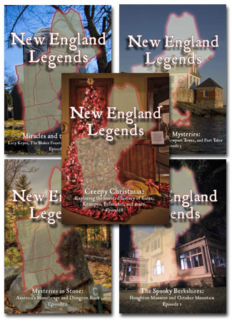 New England Legends DVD series with Jeff Belanger