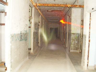 ghost picture in Waverly Hills, Louisville, Kentucky