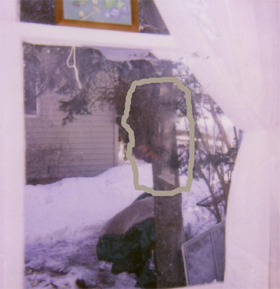Ghost picture in Clintonville, Wisconsin