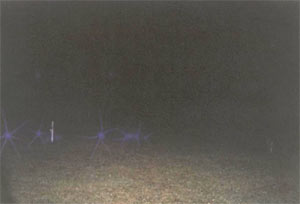 Ghost picture - Swan Lake Cemetary, Hibbing, Minnesotta.