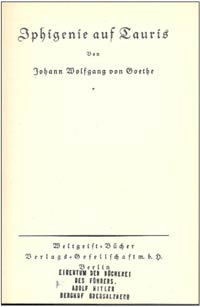 Adolf Hitler's book