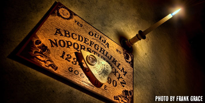 Ouija Board by Frank Grace