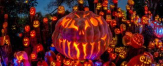 Jack-o-Lanterns Photo by Frank Grace